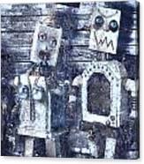 Crooks In Machines  Canvas Print