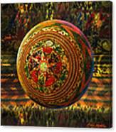 Croquet Crochet Ball Canvas Print