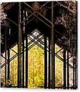 Crosby Arboretum Open Air Outdoor Pavillion Canvas Print