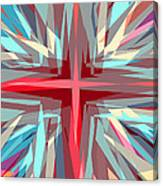 Cross Burst Canvas Print