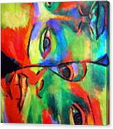 Cross-circuiting Emotions Canvas Print