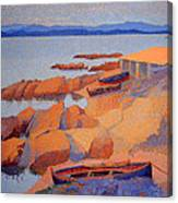 Cross' Coast Near Antibes Canvas Print