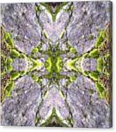 Cross In The Forest Canvas Print