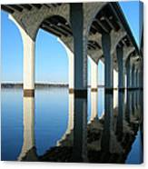 Cross Lake Bridge 2 Canvas Print