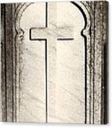 Cross Monument Canvas Print