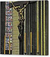 Cross Of Rouen Cathedral Canvas Print