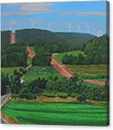 Cross Roads Canvas Print