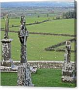 Crosses Of Cashel Canvas Print