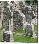 Crosses Of Clonmacnoise Canvas Print