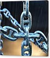 Crossing Chains Canvas Print