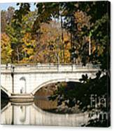 Crossing Over Into Autumn Canvas Print