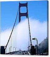 Crossing The Fog Canvas Print