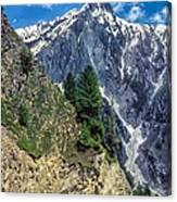 Crossing The Himalayas Canvas Print