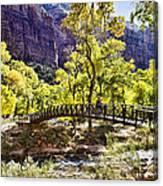 Crossover The Bridge - Zion Canvas Print