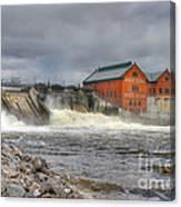 Croton Dam Canvas Print