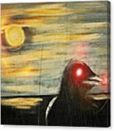 Crow 45 Canvas Print