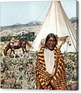 Crow Indian 1902 Canvas Print