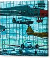 Crowded Skies Canvas Print