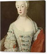 Crown Princess Elisabeth Christine Von Preussen, C.1735 Oil On Canvas Canvas Print