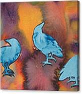 Crow Series 1 Canvas Print