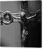 Crucifix Illuminated Canvas Print
