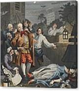 Cruelty In Perfection, From The Four Canvas Print