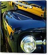 Cruise-in Car Show Vi Canvas Print