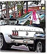 Cruise Line Canvas Print