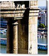 Cruise On The Danube Canvas Print