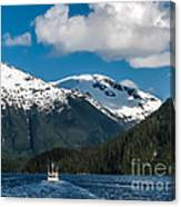 Cruising Alaska Canvas Print