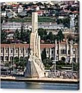 Cruising Along To Lisbon Canvas Print