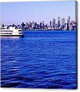 Cruising Elliott Bay Canvas Print