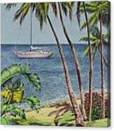 Cruising In Paradise 2 Canvas Print