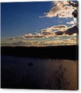 Cruising Into The Sunset Canvas Print