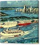 Cruising Miami Canvas Print