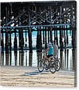 Crusin The Beach Canvas Print