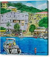 Cruz Bay St. Johns Virgin Islands Canvas Print