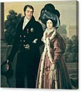Cruz Y Rios, Luis De La  1776-1853 Canvas Print
