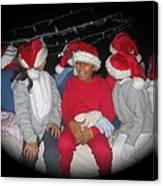 Crying Junior Santa Christmas Parade Eloy Arizona 2005-2013 Canvas Print