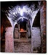 Crypt Of Church Of Holy Sepulchre Canvas Print