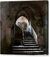 Crypt Of The Martyr San Marciano In Syracuse Canvas Print