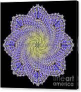 Crystal Blue Salvia Canvas Print