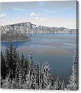 Crystal Clear Day Canvas Print