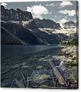 Crystal Clear Mountain Lake Canvas Print