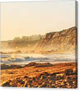 Crystal Cove At Sunset 1 Canvas Print
