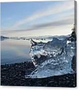Crystal Entity Canvas Print