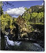 Crystal Mills Mine Canvas Print