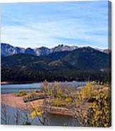 Crystal Reservoir Canvas Print