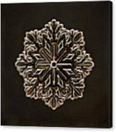 Crystal Snowflake Canvas Print