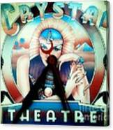 Crystal Theatre Canvas Print